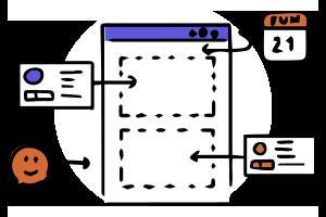 カレンダー + スタンプ情報で、日報を自動で1分作成